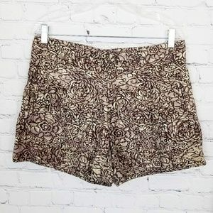 ♡ Anthro|Coquille Printed Shorts
